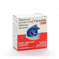 Pharmalens hyalurone gouttes pour les yeux monodoses 20 .4ml