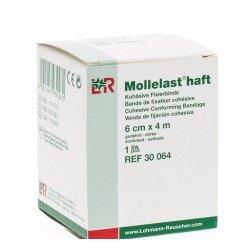 Mollelast haft bande fixation cohesive blanc 6cmx4m *14431