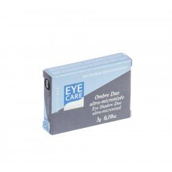 Eye care: ombre à paupières poudre duo amande-vanille