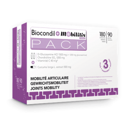 Biocondil comp 180 + mobilityl caps 90