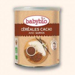Babybio cereal cacao +8mois 220g