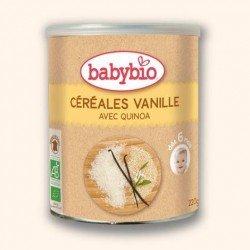 Babybio cereal vanille sans gluten  +5mois 220g