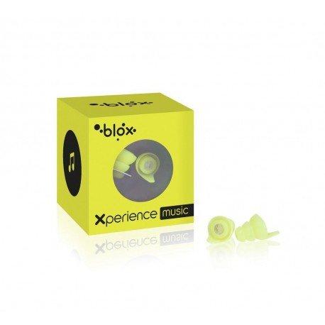 Blox XPerience Music Bouchon Oreille jaune fluo 1 paire