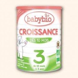 Babybio croissance lait suite bio bifidus pdr 900g