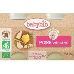 Babybio petit pot poire    2x130g