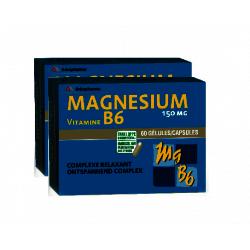 Arkopharma Magnesium B6 gélules duopack 2x60