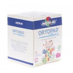 Ortopad cotton pansements oculaires medium 50 boys 70172