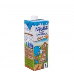 NESTLE Lait de Croissance Biscuit 1L