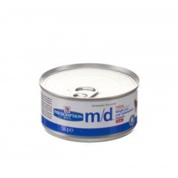 Prescription diet md feline boite 156g chicken