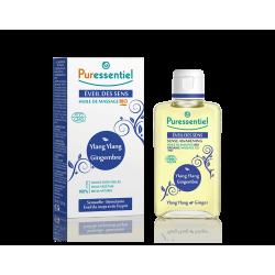 Puressentiel Massage huile bio eveil des sens - ylang ylang/gingembre 100ml