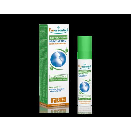Puressentiel Spray respiratoire aux 19 huiles essentielles 20ml