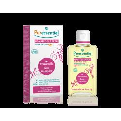 Puressentiel Massage huile bio beauté de la peau – rose musquée/bois de rose 100ml