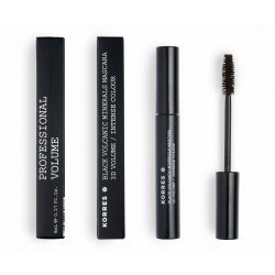Korres km blac mineral mascara 02 brown volume 8ml