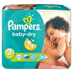 Pampers new baby midi 4- 9kg 34