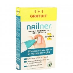 Nailner pen duopack    2x4ml 1+1 gratuit