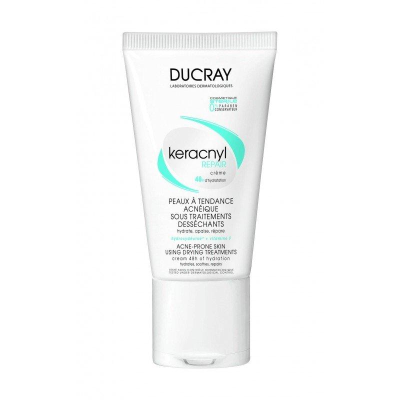 ducray keracnyl repair cr me hydratante peau acn ique 50ml. Black Bedroom Furniture Sets. Home Design Ideas