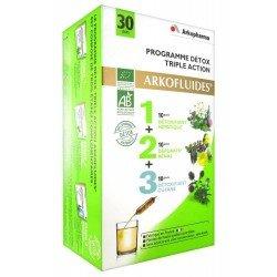 Arkofluides Programme Detox 30 ampoules