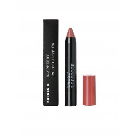 Korres km raspberry twist lipstick charm