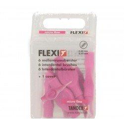 Flexi brossette interdentaire micro fine 6 fuchsia