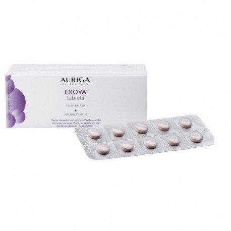 Auriga Exova anti mauvaise haleine 60 tablettes
