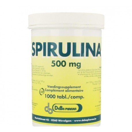 Spirulina comp 1000x500mg deba