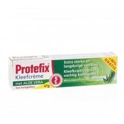 Protefix creme adhesive aloe vera40ml+40ml grat.