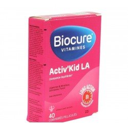 Biocure activ kid la   comp pell. 40