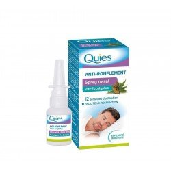Quies Spray Nasal anti-ronflement Pin-eucalyptus 15ml