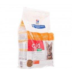 Hills prescrip.diet feline cd urin.reduc.cal. 4kg