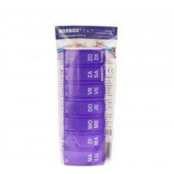 Boite medicaments anabox 7 x 1 fr
