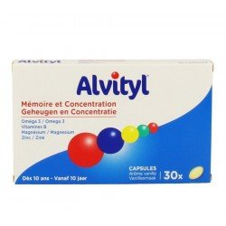 Alvityl memoire & concentration - 30 cap
