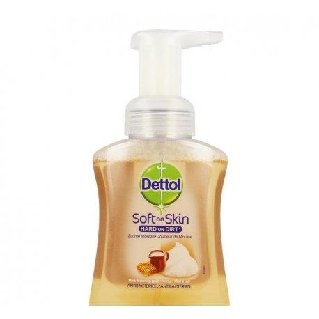 Dettol healthy touch mss gel lav. lait-miel 250ml