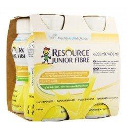 Resource junior fibre banane 4x200ml