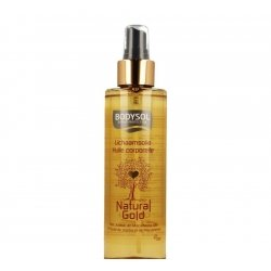 Bodysol natural gold huile corps 200ml