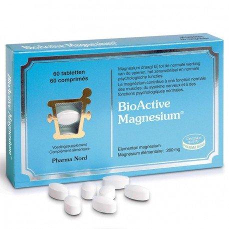 Pharma Nord Bio Active Magnesium 60 comprimés