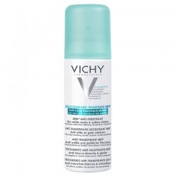 Vichy Déodorant Anti-Transpirant 48H anti-traces blanches et jaunes Spray 125 ml