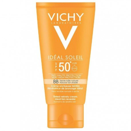 Vichy Ideal Soleil SPF50+ BB Visage Crème Onctueuse Teintée 50ml