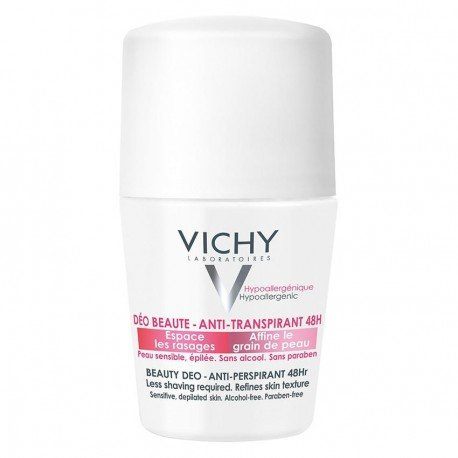 Vichy Déodorant beauté anti-repousse 48h roll on 50ml
