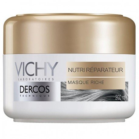 vichy dercos masque nutri r parateur cheveux secs 200ml. Black Bedroom Furniture Sets. Home Design Ideas