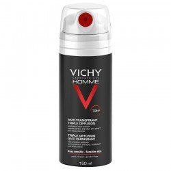 Vichy homme deo tri-spray 72h 150ml