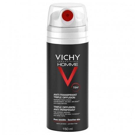 Vichy Homme  Anti-Transpirant Triple Diffusion 72h 150ml