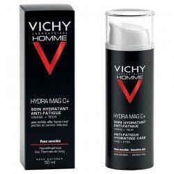 Vichy Homme Hydra Mag C+ Soin Hydratant Anti Fatigue Visage & Yeux 50ml