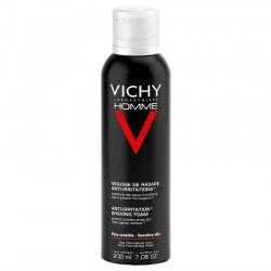 Vichy Homme mousse a raser anti-irritations 200ml