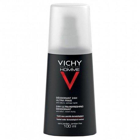 Vichy Homme déodorant 24H Ultra-Frais Vaporisateur 100 ml