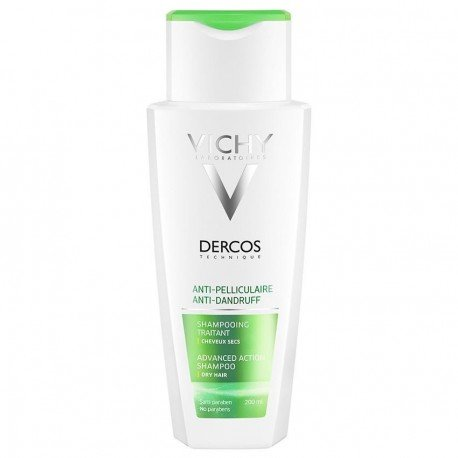 Vichy Dercos Shampoing Anti-Pelliculaire Cheveux Secs 200 ml