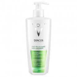 Vichy Dercos Shampoing Anti-Pelliculaire Cheveux Secs 390 ml
