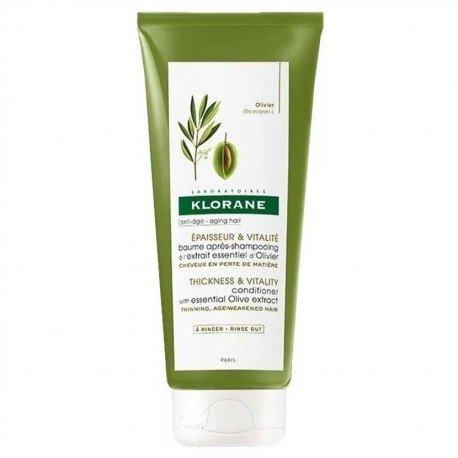 Klorane Baume après-shampooing à L'extrait Essentiel D'olivier 200ml