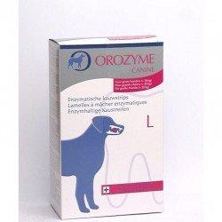 Orozyme canine l lamelle enzymchien supérieur à 30kg 141g