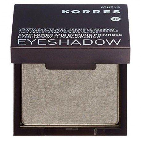 Korres Maquillage Sunflower/Primrose Ombre a paupieres Metallic grey 55