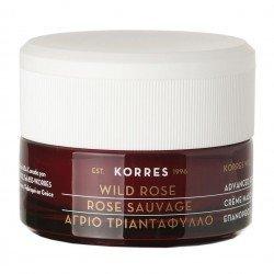 Korres Face Rose sauvage Crème Nuit Révélateur Eclat 40ml